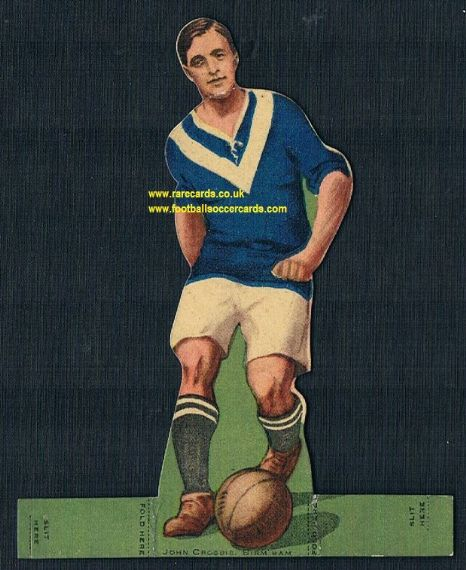 1923 Rover comic John Crosbie Scotland Birmingham City